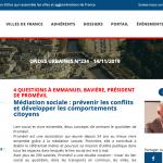 Villes de France présente Promevil dans sa Lettre ondes Urbaine de Novembre