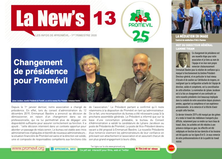La News 13 est en ligne