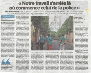 Les médiateurs Promévil pendant le confinement dans les Hauts-de-Seine