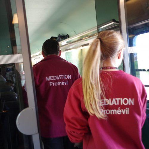 Promévil : médiation professionnelle transports, gare et trains